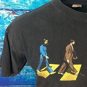 Apple Corps Shirts - 🍏BEATLES Abbey Road Apple corps 1996 tee